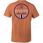 Image One Men's Sam Houston State University Simple Circle Lines Comfort Color T-shirt