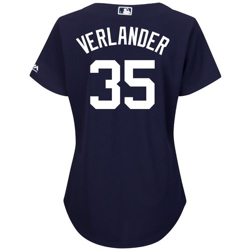 Majestic Women's Detroit Tigers Justin Verlander #35 Authentic Cool Base Jersey - view number 1