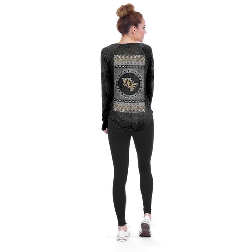Chicka-d Women's University of Central Florida V-neck Long Sleeve T-shirt
