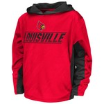 Colosseum Athletics Boys' University of Louisville Sleet Fleece Pullover Hoodie