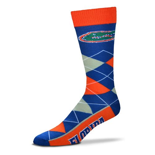 For Bare Feet Adults' University of Florida Team Pride Flag Top Dress Socks