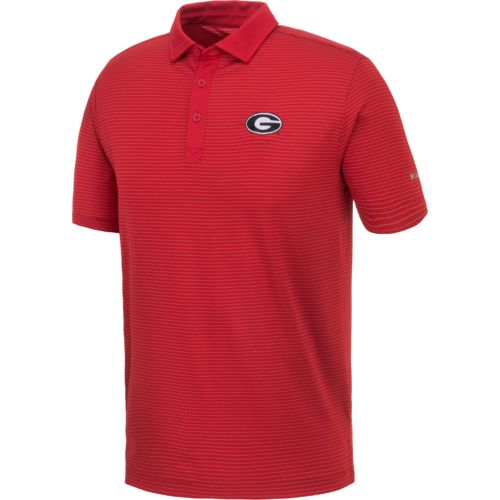 Columbia Sportswear Men's University of Georgia Omni-Wick Sunday Polo Shirt