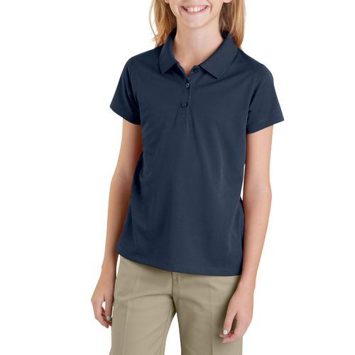 Dickies Girls' Performance Short Sleeve Polo Shirt - view number 1