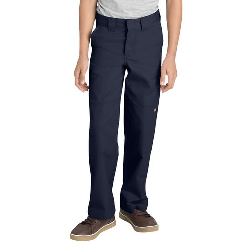Dickies Boys' Relaxed Fit Straight Leg FlexWaist Double Knee Pant