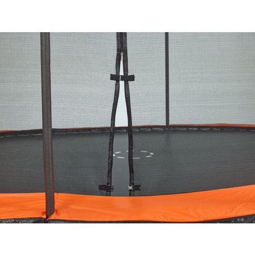 Jump Zone 15 ft x 10 ft Rectangular Trampoline with Enclosure - view number 2