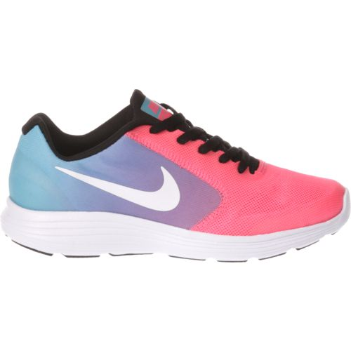Nike Girls\u0027 Revolution 3 Running Shoes - view number ...