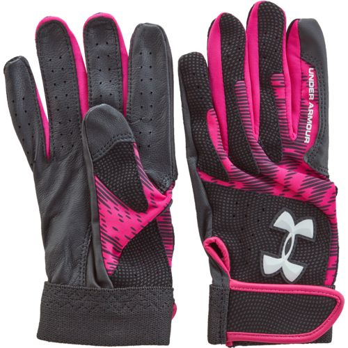 Under Armour Girls' Radar III Batting Gloves