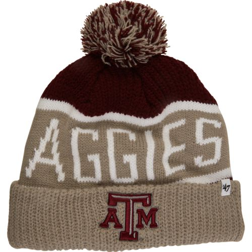 '47 Adults' Texas A&M University Calgary Pom-Pom Knit Cap