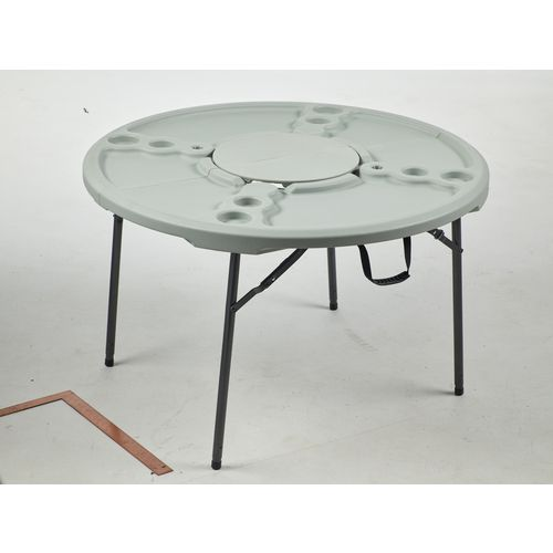 academy sports outdoors 4 ft round folding cookout table