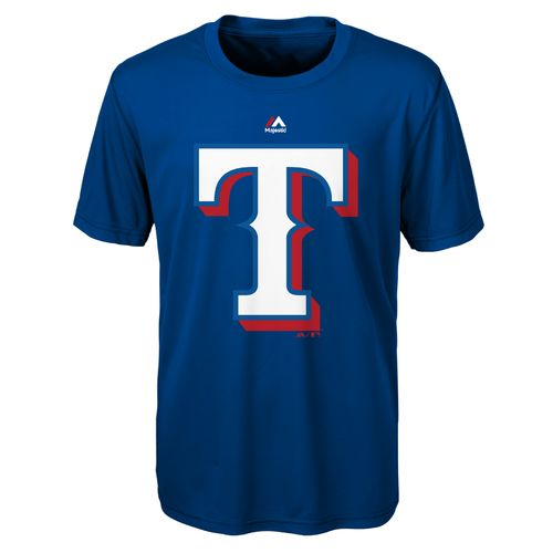 MLB Boys' Texas Rangers Primary Logo T-shirt - view number 1