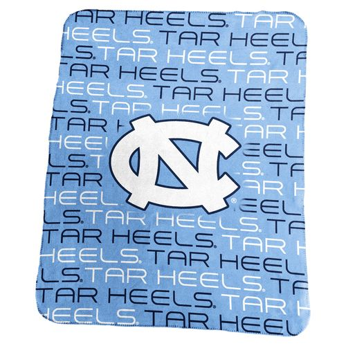 Logo University of North Carolina 50 in x 60 in Classic Fleece Blanket