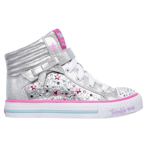 SKECHERS Girls' Twinkle Toes Shuffles Starry Spirit Shoes