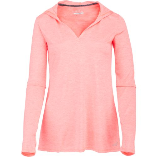 Display product reviews for BCG Women's Melange Hoodie Tech T-shirt