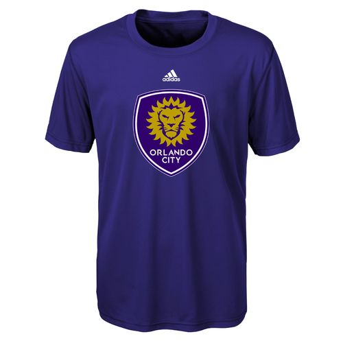 adidas Infants' Orlando City SC climalite Primary Logo Short Sleeve Crew Neck T-shirt
