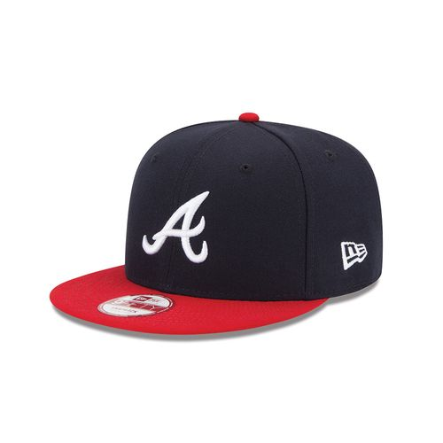 New Era Men's Atlanta Braves Baycik Snapback 9FIFTY Cap