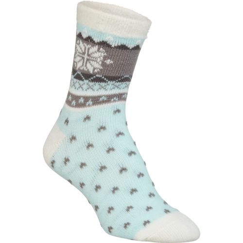Magellan Outdoors Women's Single Snowflake Lodge Socks