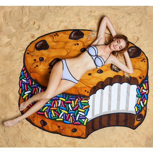 BigMouth Gigantic Ice Cream Cookie Beach Blanket