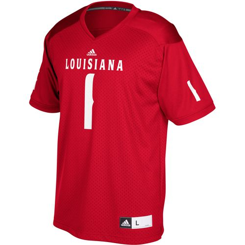 adidas Men's University of Louisiana at Lafayette Replica Football Jersey