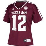 adidas Women's Texas A&M University Replica Football Jersey - view number 1