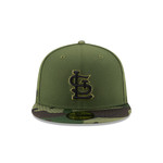 New Era Men's St. Louis Cardinals SE17 Memorial Day 59FIFTY Cap - view number 1