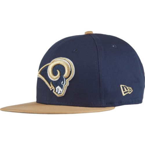 New Era Men's Los Angeles Rams 9FIFTY Baycik Snapback Cap - view number 2