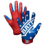 Battle Adults' American Flag Football Gloves - view number 1