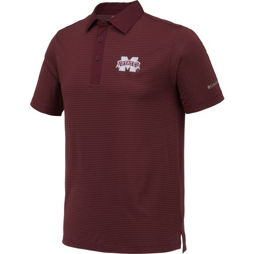 Columbia Sportswear Men's Mississippi State University Omni-Wick Sunday Polo Shirt - view number 2