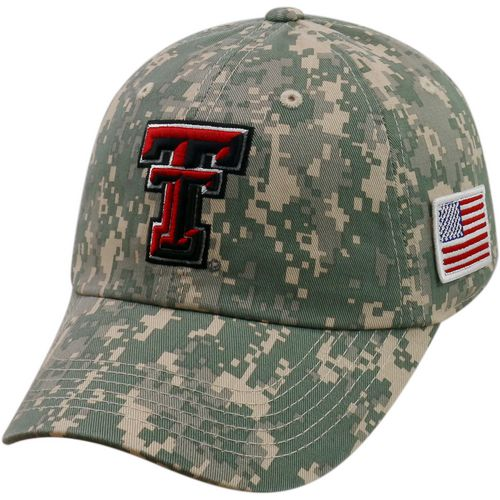 Top of the World Men's Texas Tech University Flagship Digi Camo Cap