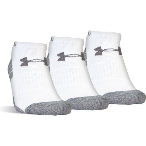 Under Armour™ Men's Elevated Performance No-Show Socks 3 Pack - view number 1