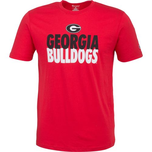 Champion Men's University of Georgia Big Soft Tee