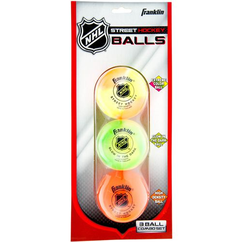Franklin NHL 3-Piece Hockey Ball Set