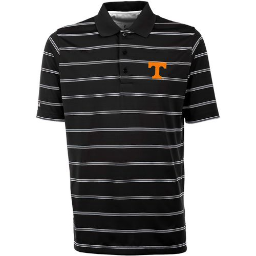 Antigua Men's University of Tennessee Deluxe Stripe Polo Shirt - view number 1