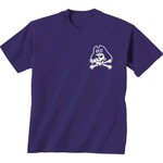 New World Graphics Women's East Carolina University Comfort Color Initial Pattern T-shirt - view number 2