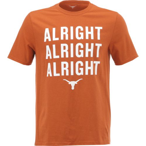 Display product reviews for We Are Texas Men's University of Texas Alright Alright Alright T-shirt