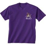 New World Graphics Girls' East Carolina University Where the Heart Is Short Sleeve T-shirt - view number 2