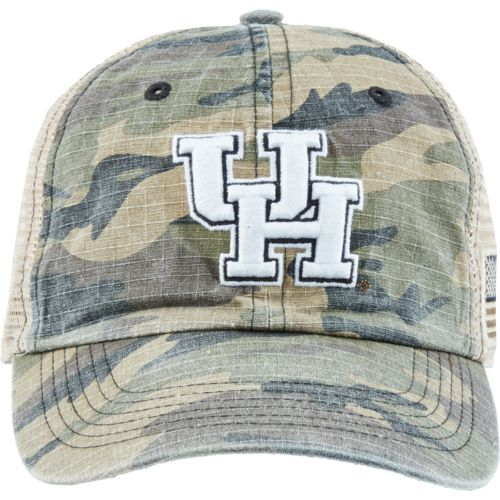 Top of the World Men's University of Houston Declare 2-Tone Adjustable Cap - view number 1
