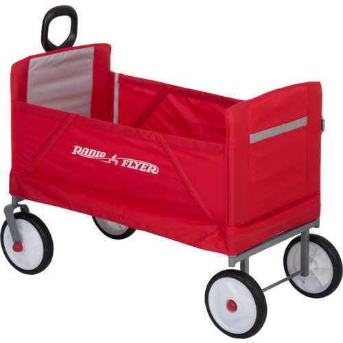 ... Radio Flyer 3-in-1 EZ Fold Wagon - view number 2 ...  sc 1 st  Academy Sports + Outdoors & Radio Flyer 3-in-1 EZ Fold Wagon | Academy