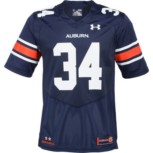 Under Armour Men's Auburn University Replica Home Football Jersey