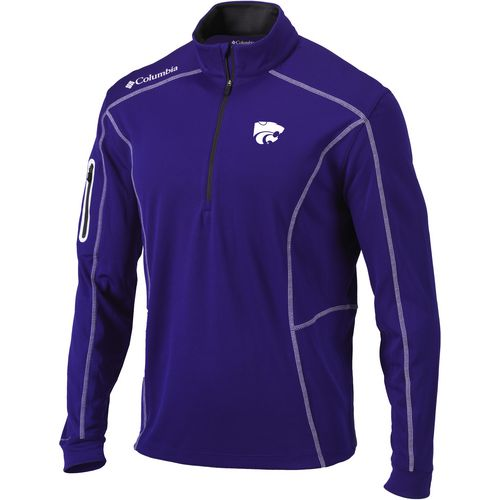 Columbia Sportswear Men's Kansas State University Shotgun 1/4 Zip Pullover