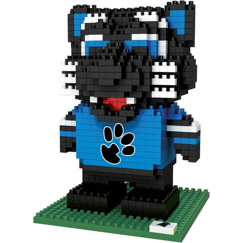 Forever Collectibles Carolina Panthers 3-D BRXLZ Mascot Puzzle
