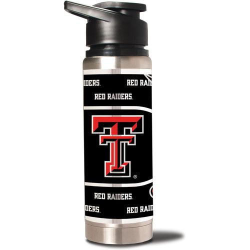 Great American Products Texas Tech University 20 oz Metallic Water Bottle