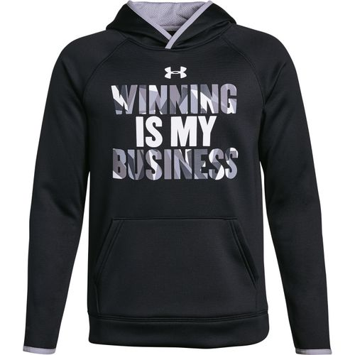 Under Armour Boys' Armour Fleece Winning Hoodie