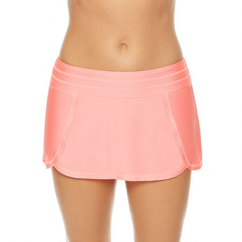 BCG Women's Solids Skirtini Swim Bottoms