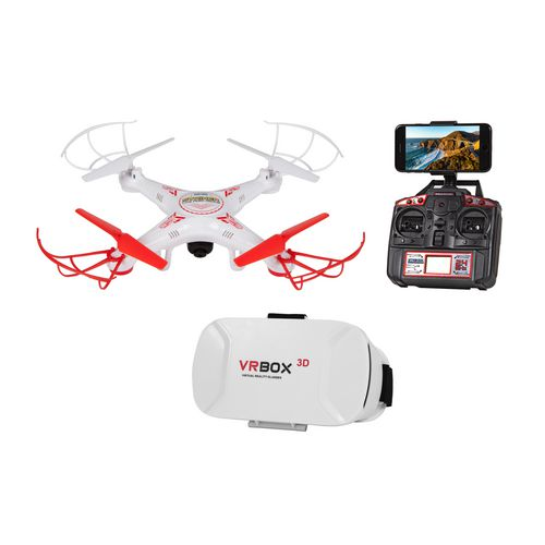 World Tech Toys Striker FPV Life View 4.5-Channel 2.4 GHz RC Drone