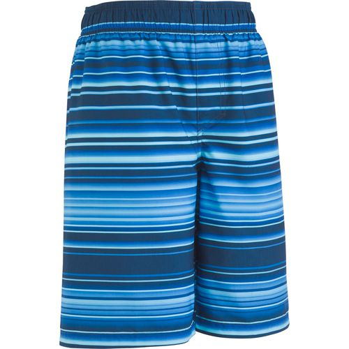 Under Armour Boys' Gradient Stripe Volley Swim Shorts
