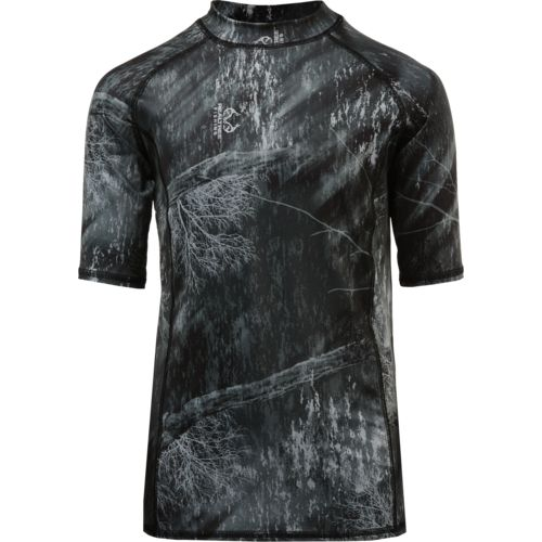 O'Rageous Boys' Realtree Short Sleeve Rash Guard - view number 2