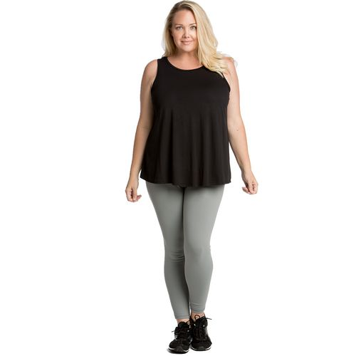 Lola Getts Women's Flutterback Plus Size Tank Top