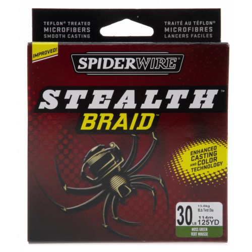 Image for Spiderwire® Stealth™ Braid™ 30 lb. - 125 yards Braided Fishing Line from Academy