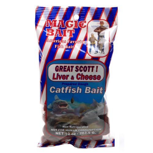 Display product reviews for Magic Bait Great Scott! 10 oz. Liver and Cheese Catfish Bait