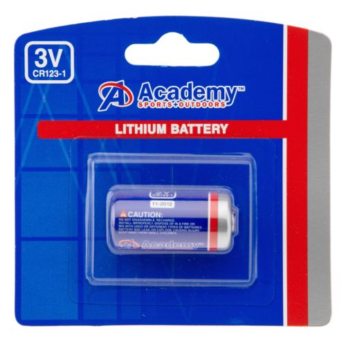 Academy Sports + Outdoors™ CR123 Lithium Battery